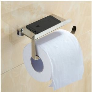 Other - cellphone holder & toilet paper wall mount